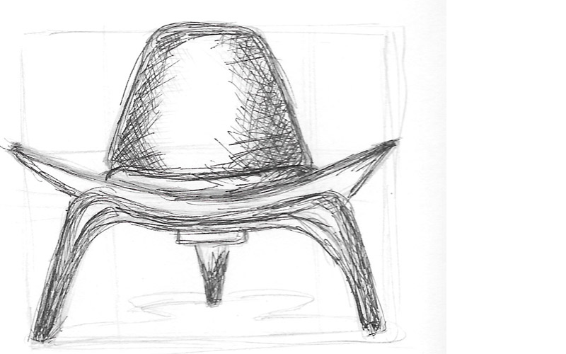 Line Drawing Technique Ethics : Sketches